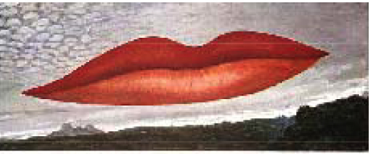 Lips (Heure de l'Observatoire) - Man Ray